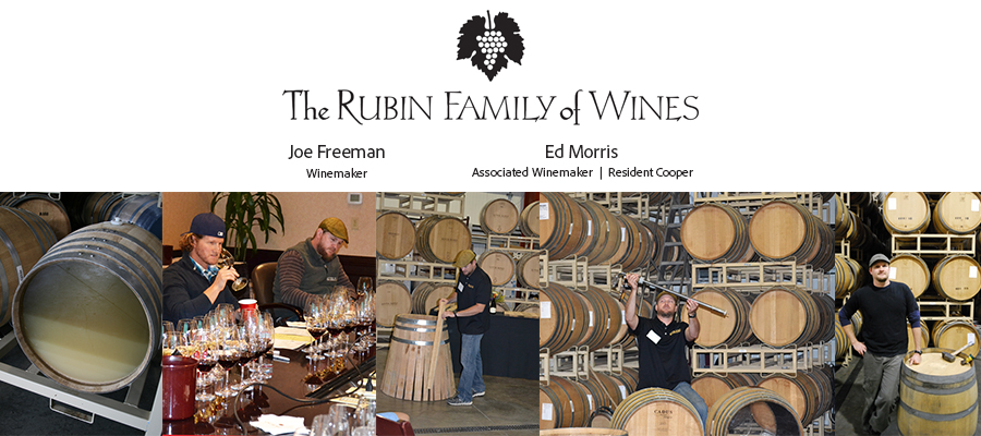 Oak Barrels: The Winemaker's Spice Rack, featuring Joe Freeman and Ed Morris from The Rubin Family of Wines