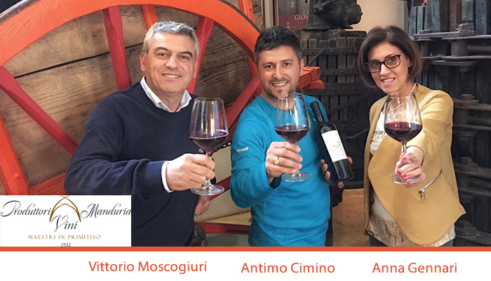 Poetry in a glass by Produttori Vini Manduria- Masters of Primitivo