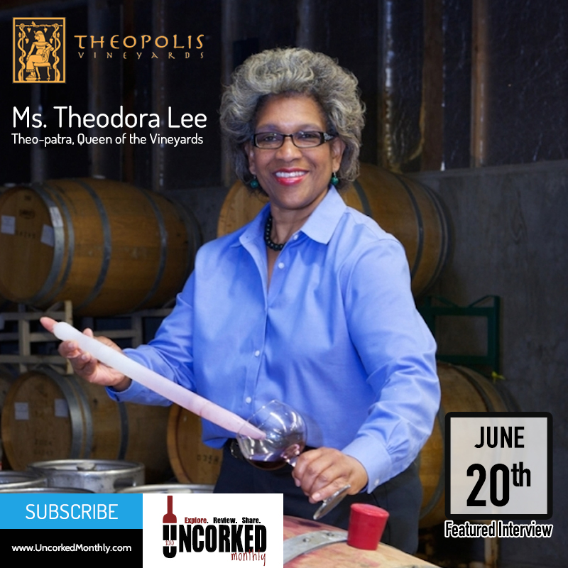 Featured Interview: Ms. Theodora Lee of Theopolis Vineyards
