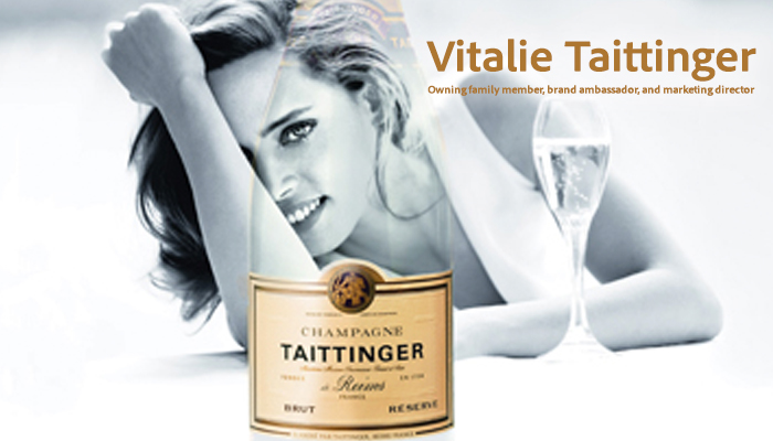Taittinger Bubbles and a delicious French accent