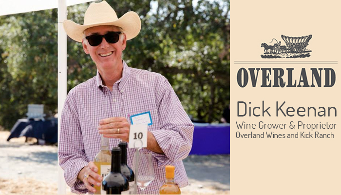 Overland Wines Dick Keenan went from Trial Lawyer to Wine Grower and Wine Producer