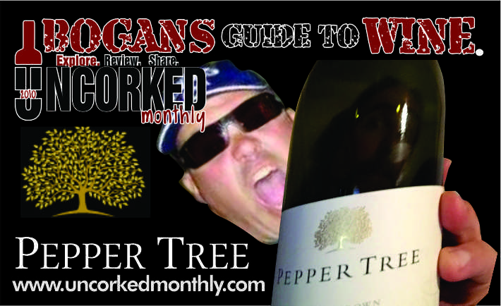BOGANS GUIDE TO WINE – PEPPER TREE – SHIRAZ – 2013